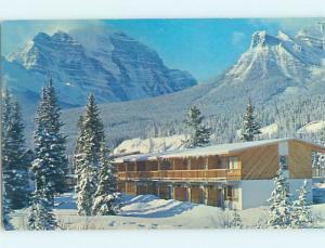 Pre-1980 PIPESTONE LODGE MOTEL Lake Louise Alberta AB B7039