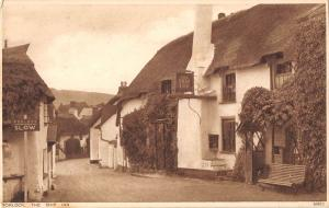 uk23437 the ship inn porlock real photo  uk