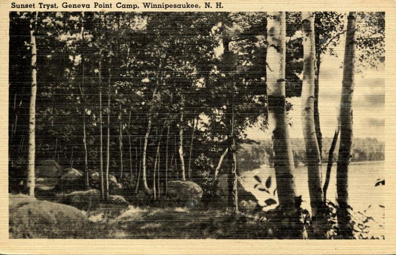 NH - Lake Winnipesaukee. Geneva Point Camp