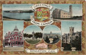 KINGSTON , Ontario , 1910 ; 6 view PC