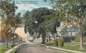 GROTON, Connecticut, PU-1916; The Griswold from Boulevard, Eastern Point