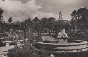 Lourdes The Miraculous Grotto Real Photo Postcard