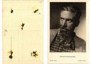 CPA AK Albrecht Schoenhals FILM STAR (548146)