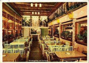 CPA AK Frankfurt a.M.- Eis Cafe Wipra, Wintergarten GERMANY (1000590)