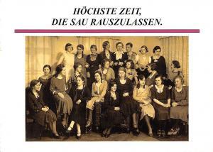 Hoechste Zeit, Die Sau Rauszulassen Lo Blickensdorf Dieter Becher