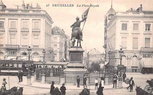 Bruxelles Belgium, Belgique, Belgie, Belgien La Place ROyale Bruxelles La Pla...