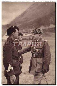 Old Postcard The General Gamelin Vice President Du Conseil Superieur De War M...