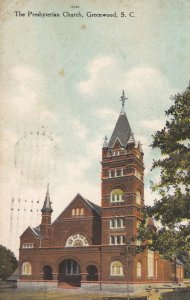 GREENWOOD , South Carolina , 1910 ; Presbyterian Church