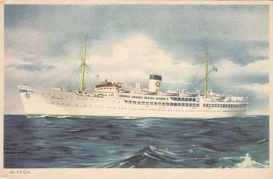 M/S SAGA, Cruise Line, PU-1953