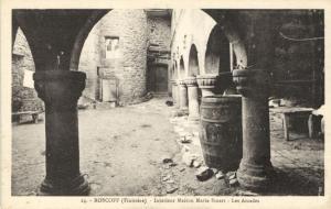 CPA Roscoff - Intérieur Maison Marie Stuart - Les Arcades (143939)