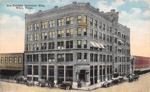 Waco Texas~Peerless Insurance Building~JH Harvey Dentist~Climax Awning~1908 PC