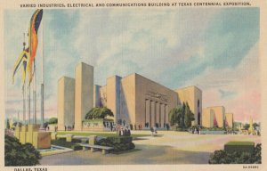 DALLAS , Texas , 1930-40s ; Centennial Exposition Varied Industries Building