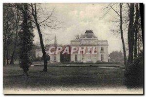 Old Postcard Bois de Boulogne Bagatelle Park Chateau a decision