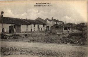 CPA MILITAIRE Courbesseaux en Ruines (316772)