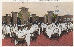 PHILADELPHIA , Pennsylvania , 1910s ; Poor Richard Room (Grill)