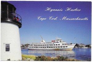 US Cape Cod.  Hyannis Harbor.  Beautiful.  unused.
