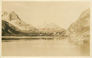Canada, Yukon, Ben My Chree Head Of West Taku Arm, RPPC