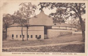 MOUNTAIN LAKE PARK, Maryland; Bashford Amphitheatre Seating 5000, 10-20s