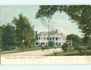Pre-1907 HORSE & CASINO Providence Rhode Island RI v4388