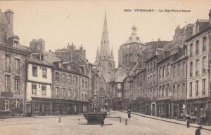 GUINGAMP , France , 00-10s ; La Rue Notre-Dame