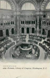 Rotunda, Library Of Congress, Washington, D.C., 1910-1920s