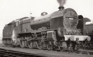 LMS Class 4-4-0 Number 45531 Vintage Train Plain Back Postcard Photo