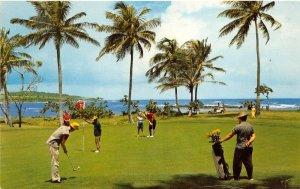 Dorado Puerto Rico 1959 Postcard Dorado Beach Golf Course