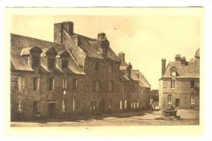 Belles Maisons Bourgeoises Du XVII Siecle, Place De Locronan, Locronan (Finis...