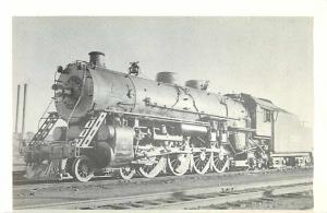 Illinois Central #2401 4-8-2 at Wamal Illinois in 1935