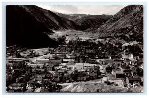 Postcard Georgetown, Colorado CO 1944 RPPC H14 A