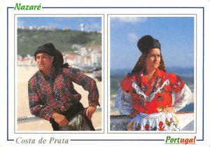B108667 Portugal Nazare Trajo Tipico de Homem Costa de Prata real photo uk