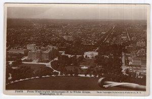Washington, D.C., From Washington Monument N. to White House