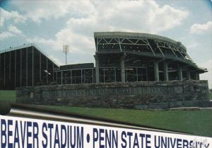 Pennsylvania State College Beaver Stadium Penn State University 1998