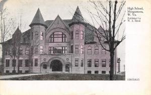 Morgantown West Virginia~Senior High School~Published By WA Ream~ZIM 1908 PC