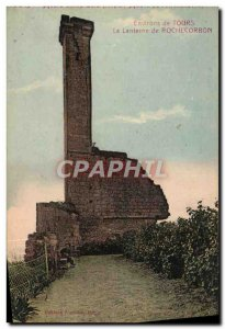Tours Old Postcard From Around The Lantern Rochecorbon
