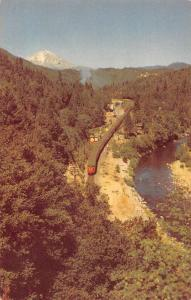 Castella California San Francisco Portland Streamliner Train Postcard JD933993