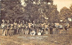 Walpole Island Canada Native Indian Band Pesha Photo RPPC Postcard