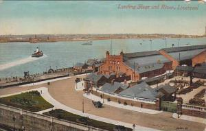 Landing Stage and River, Liverpool, Lancashire, England, United Kingdom, 00-10s