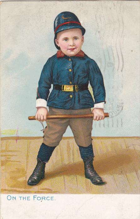 Child Policeman On the Force , 00-10s ; TUCK