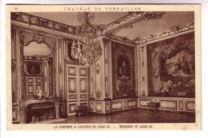 Interior Bedroom Louis XV, Versailles Paris France, Braun & Cie 2525A