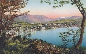 Swtzerland Lugano Totalansicht