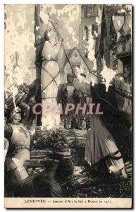 Postcard Old Lenepveu Jeanne d & # 39arc brulee in Rouen