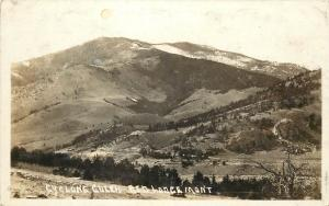 c1915 RPPC Postcard; Cyclone Gulch, Red Lodge MT Carbon County Posted