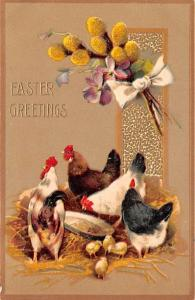 Closeout Easter Greetings Writing on back