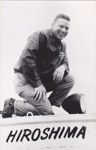 RP: Airman at HIROSHIMA , Japan , 1940s