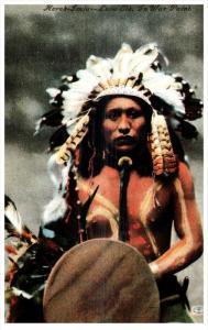 12469  American Indian REPO    Herek-Jsila-Lone Elk- In War Paint