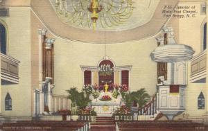 FORT BRAGG , North Carolina , 30-40s ; Interior of Main Post Chapel