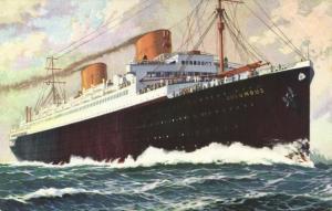 Norddeutscher Lloyd Bremen Steamer Columbus (1930s)