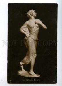 202578 NUDE Female DANCER by Rudolf MARCUSE old ART NOUVEAU