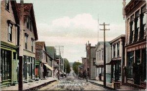 Lincoln Street Lunenburg NS Nova Scotia Unused Postcard F80